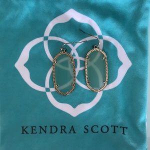 Kendra Scott earrings blue green